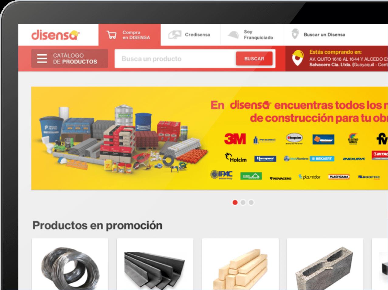 Disensa ecommerce implementacion y personalizacion image tech ecuador